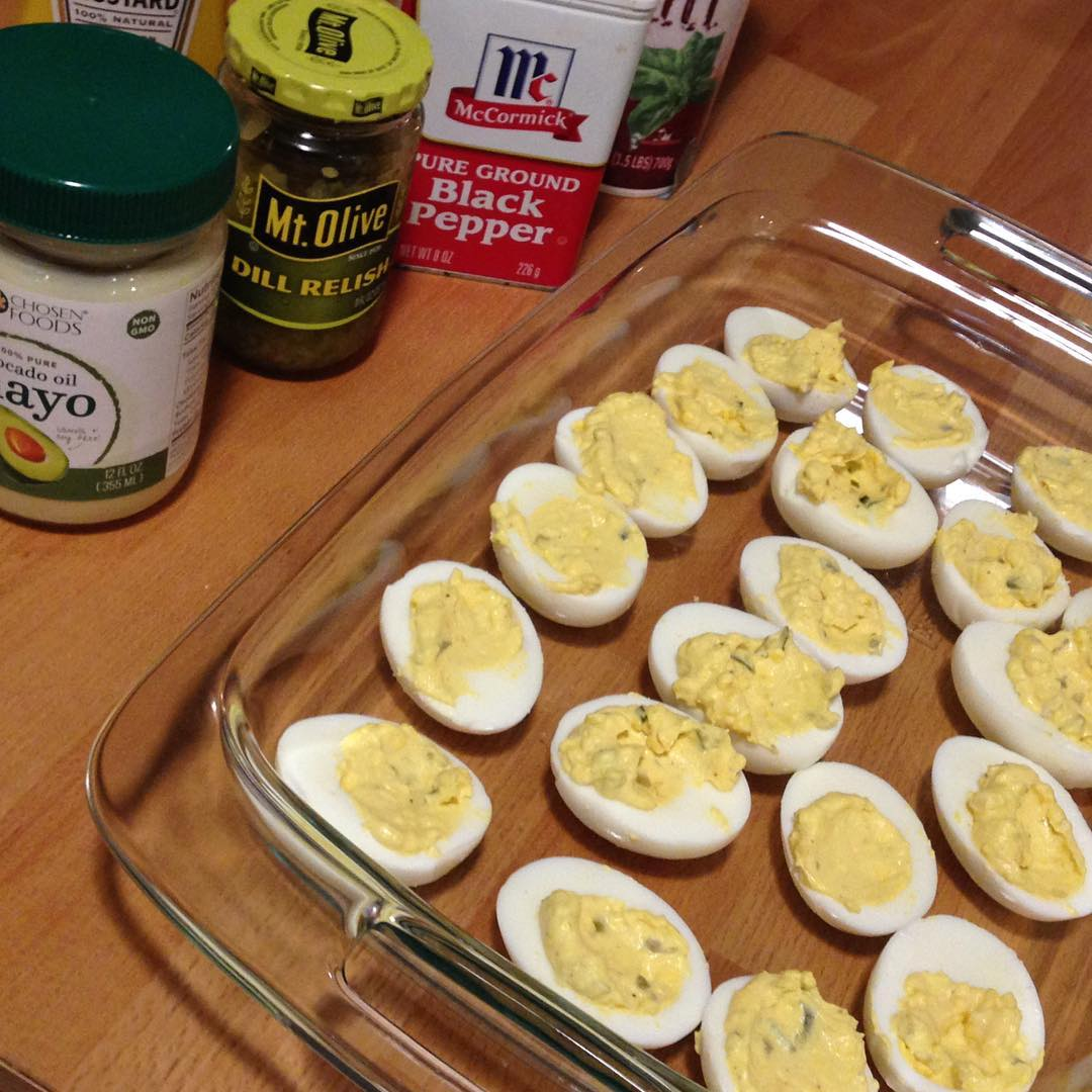 want to lose weight deviled-eggs
