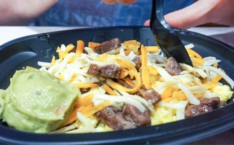 Keto Breakfast at Taco Bell