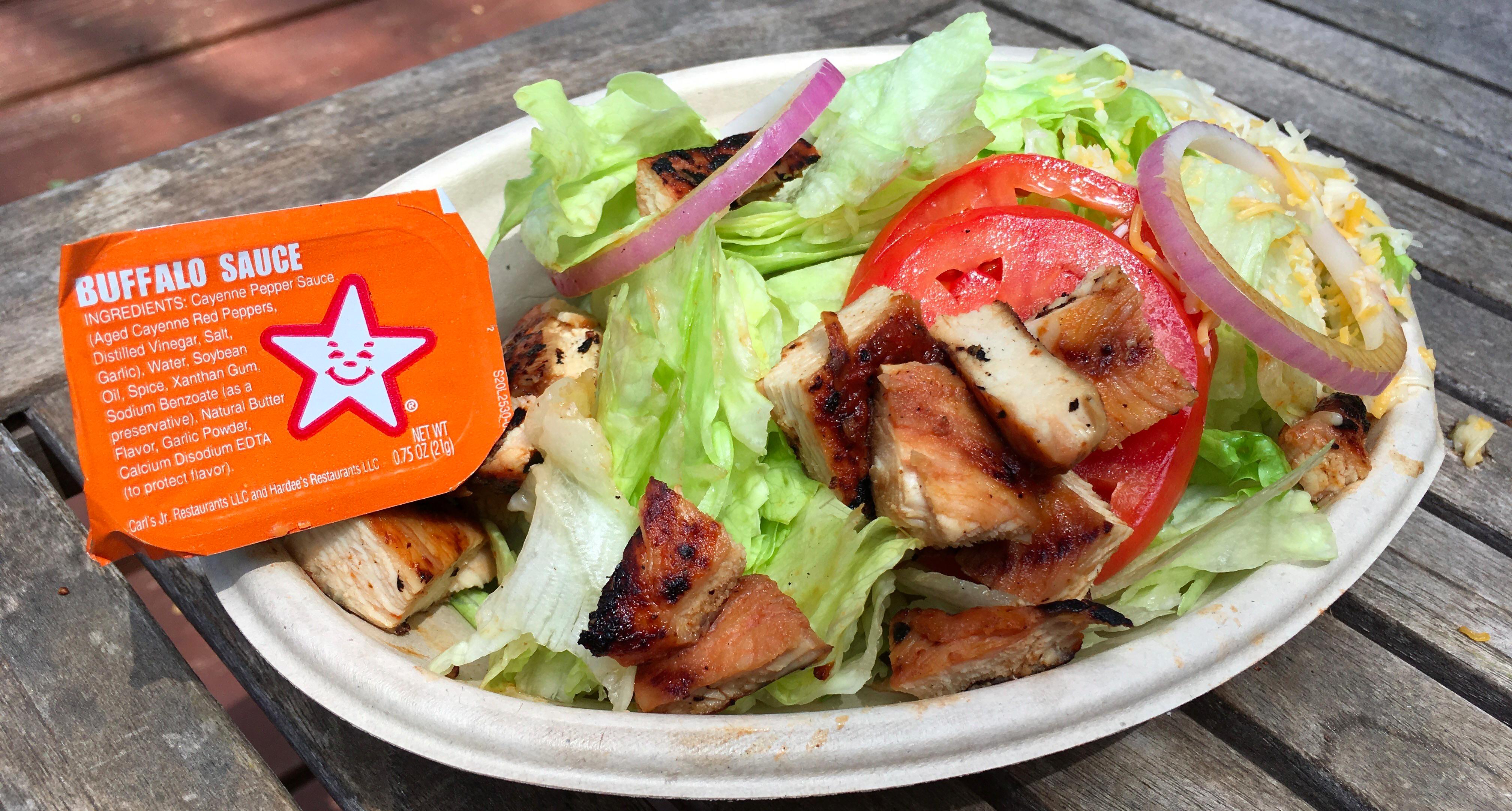 Carl's Jr. Low Carb Chicken Salad.