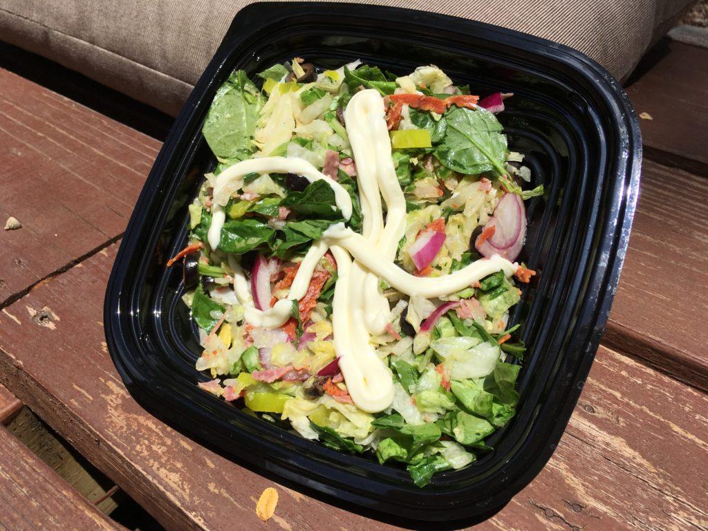spicy-italian salad