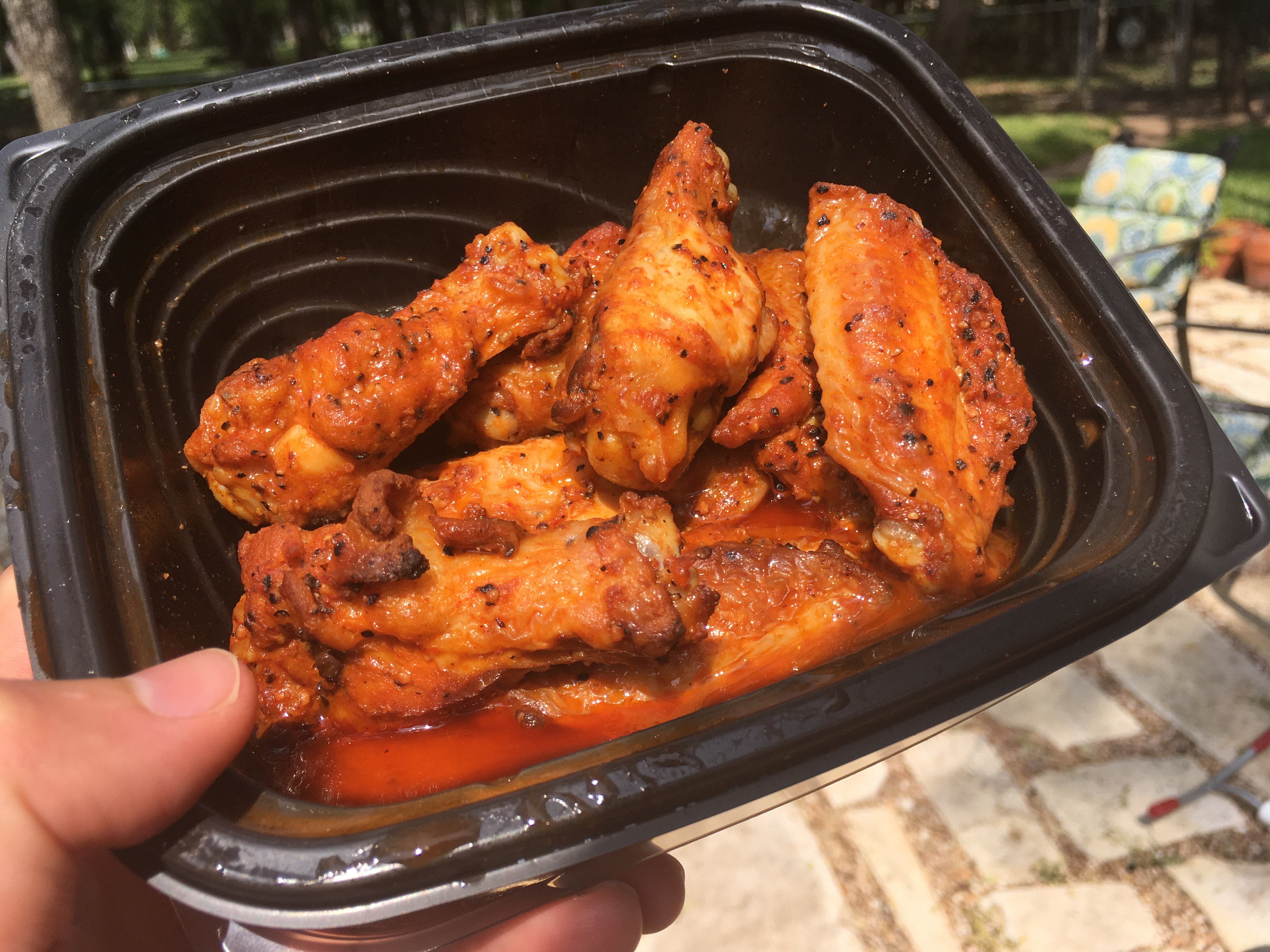Little Caesars low carb wings