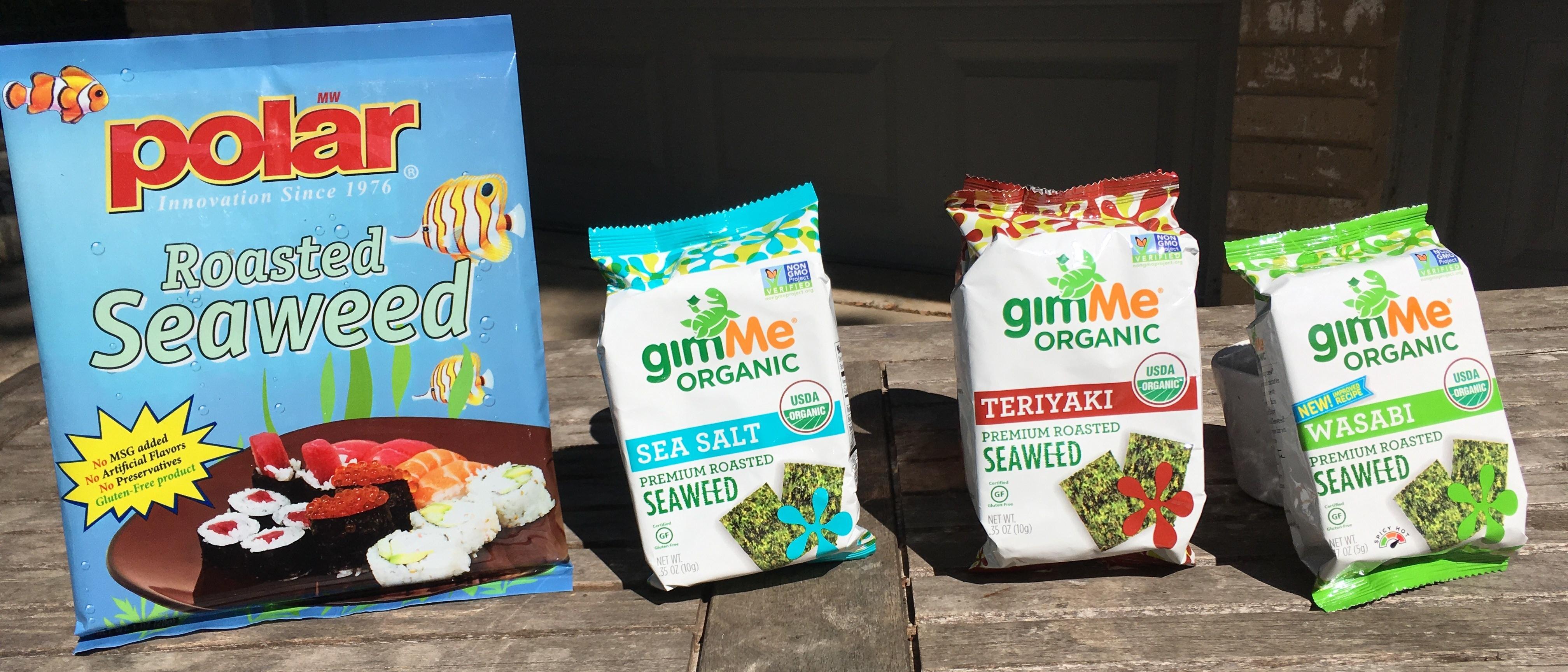 Keto Roasted Seaweed Ingredients