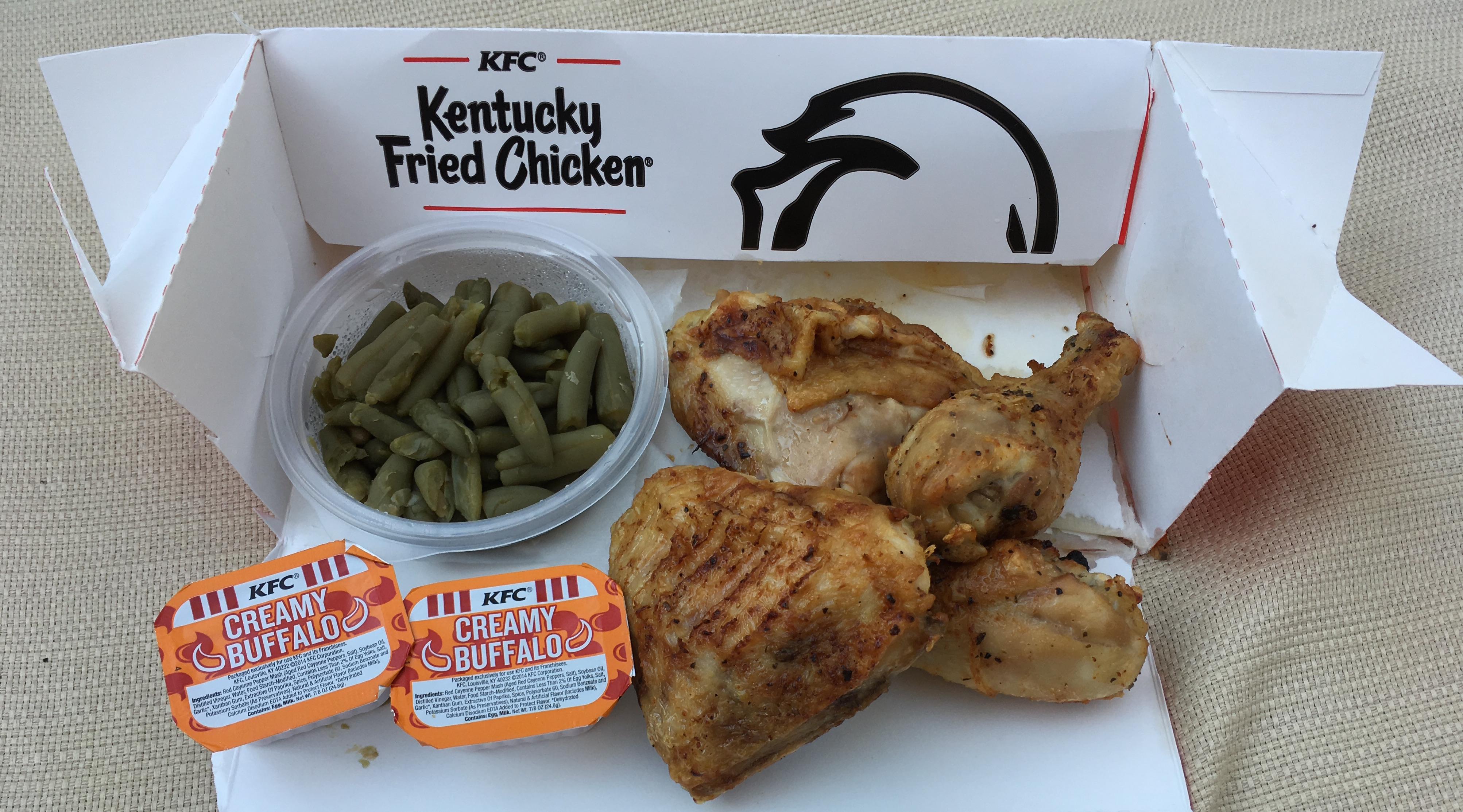 Low Carb KFC Grilled Chicken