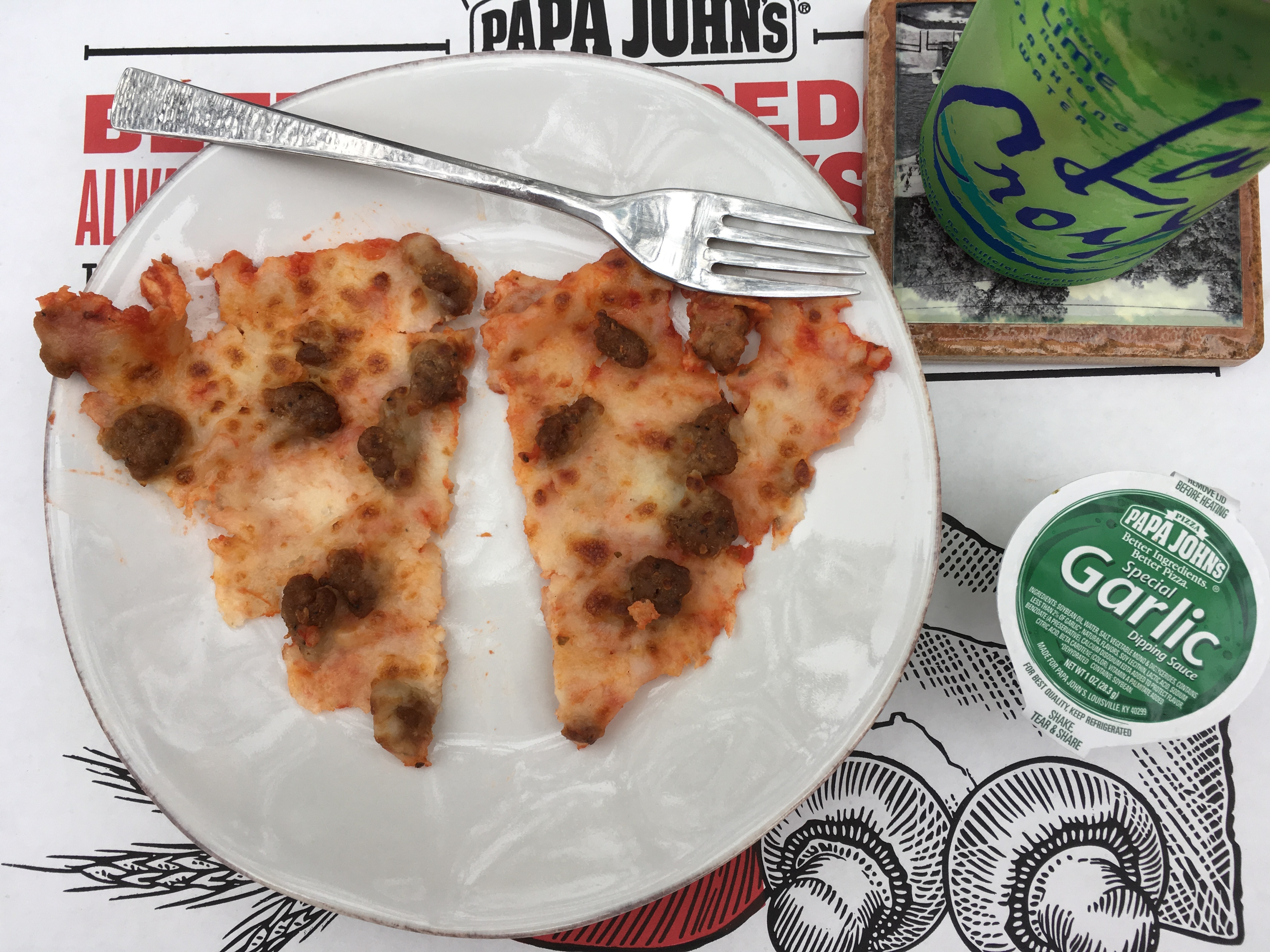 My Low Carb Papa Johns Pizza Toppings - Italian Sausage