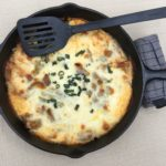Low Carb Philly Cheesesteak Casserole - Remove from Oven
