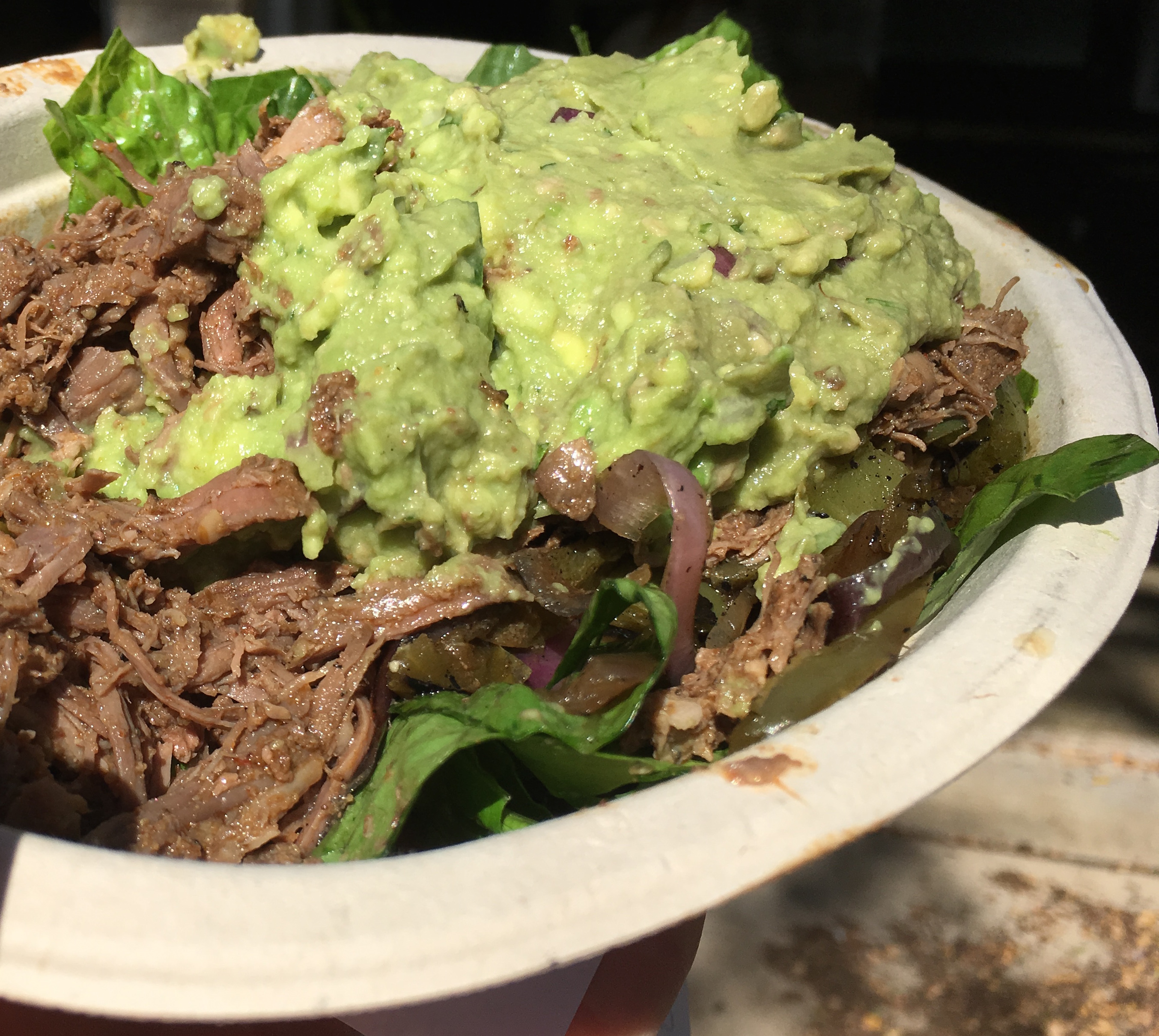 Low Carb Chipotle Barbacoa Salad