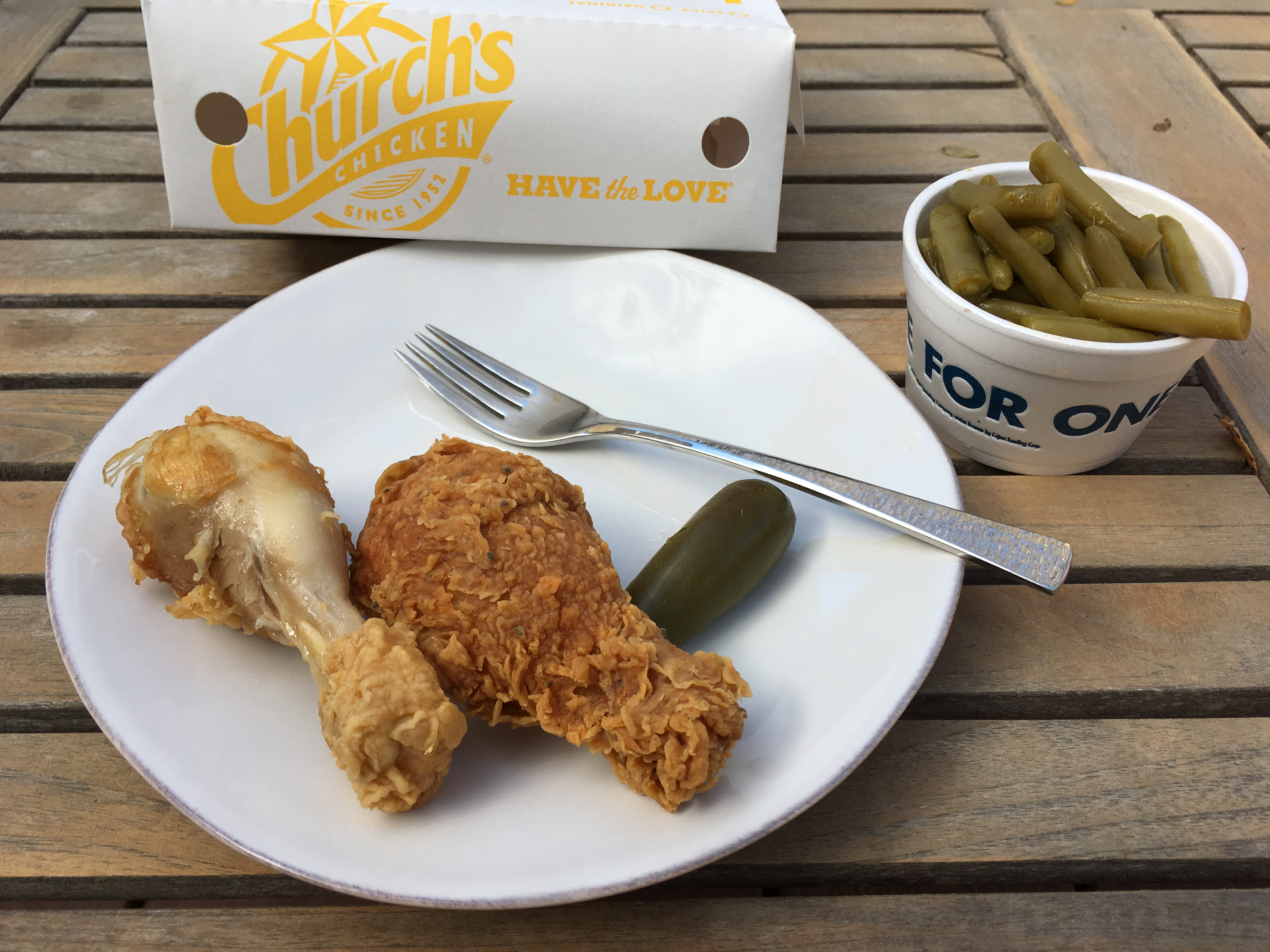 Low Carb Church's Chicken Drumsticks