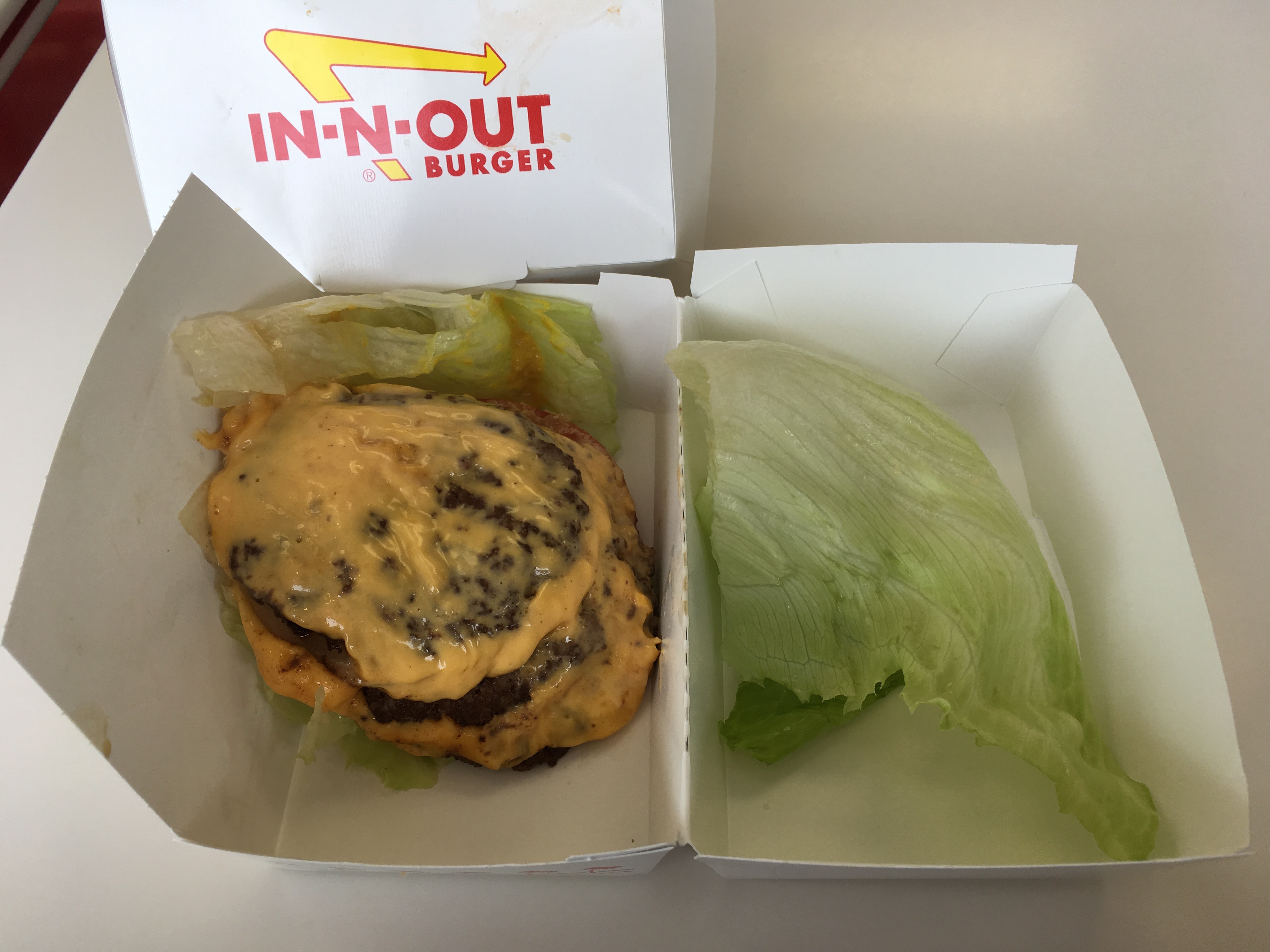 Low Carb In-N-Out 3x3 Burger