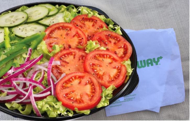Veggie Delight Salad Low Carb Option