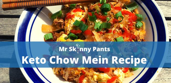 Keto Chow Mein Recipe