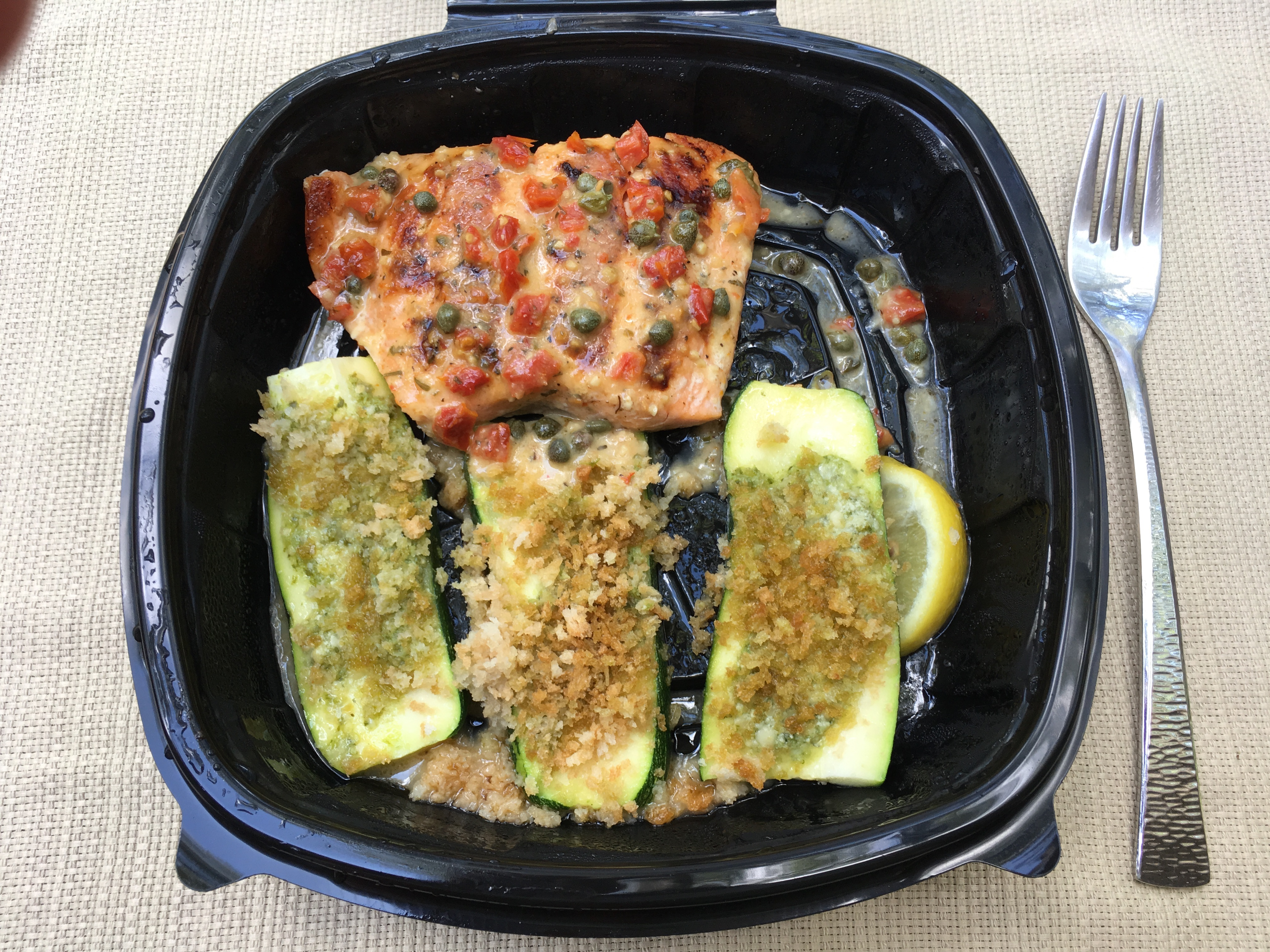 Low Carb Olive Garden Salmon Piccata