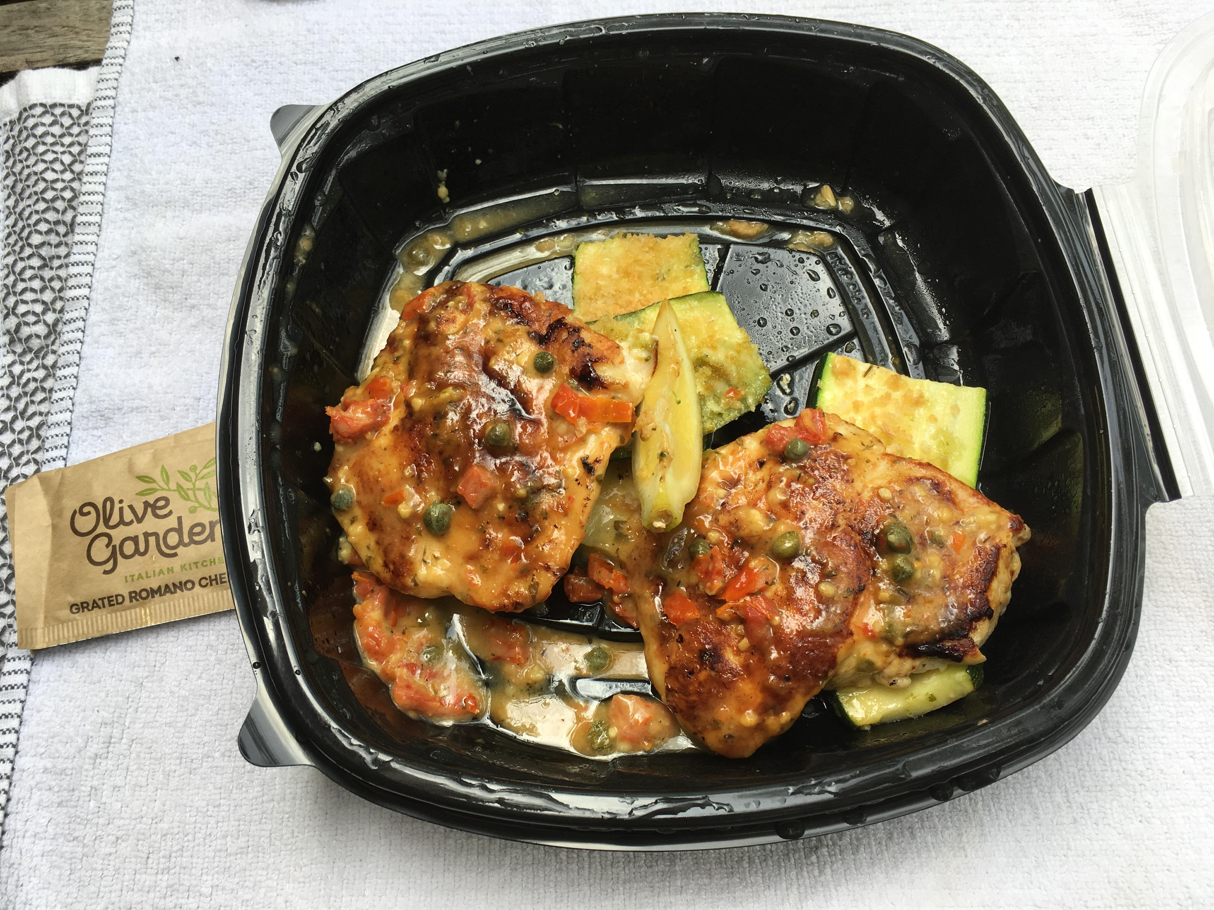 Low Carb Olive Garden Chicken Piccata