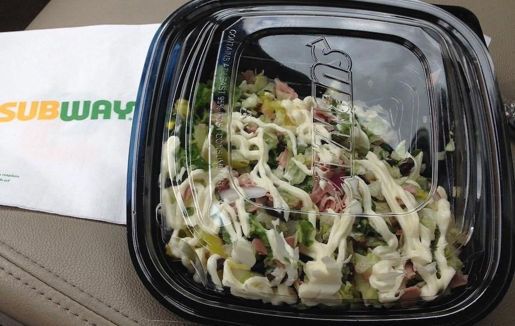 cold cut combo salad