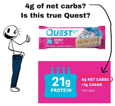 calculating net carbs and sugar alcohols