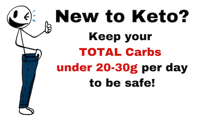 mr skinny pants total carbs for keto beginners
